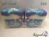 ten pounds natural bespoke Gift cards gift card peterborough