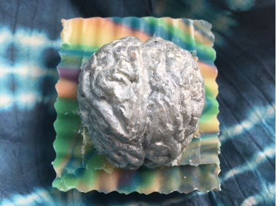 brainy beautifully-coloured highly tactile hand-crafted artistic focusing stimulating conditioning bubbly genius all-natural soap peterborough