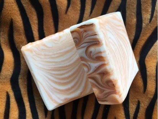 fun calming stress-relieving handmade natural tiger soap peterborough