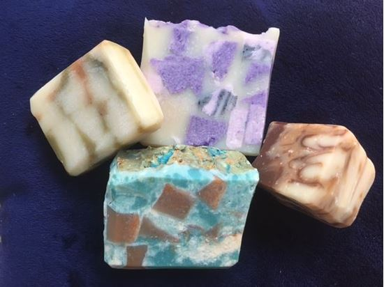 nourishing gentle natural colourful crystal soap peterborough uk